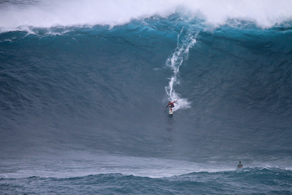 Kai Lenny at Jaws B1 by Lynton