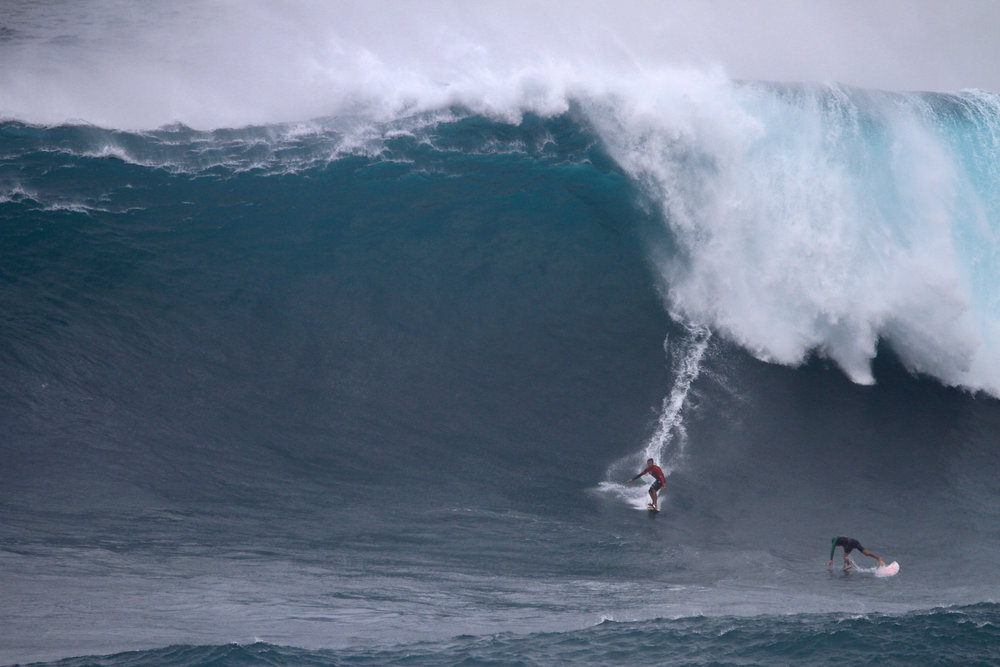 Kai Lenny at Jaws B2 by Lynton