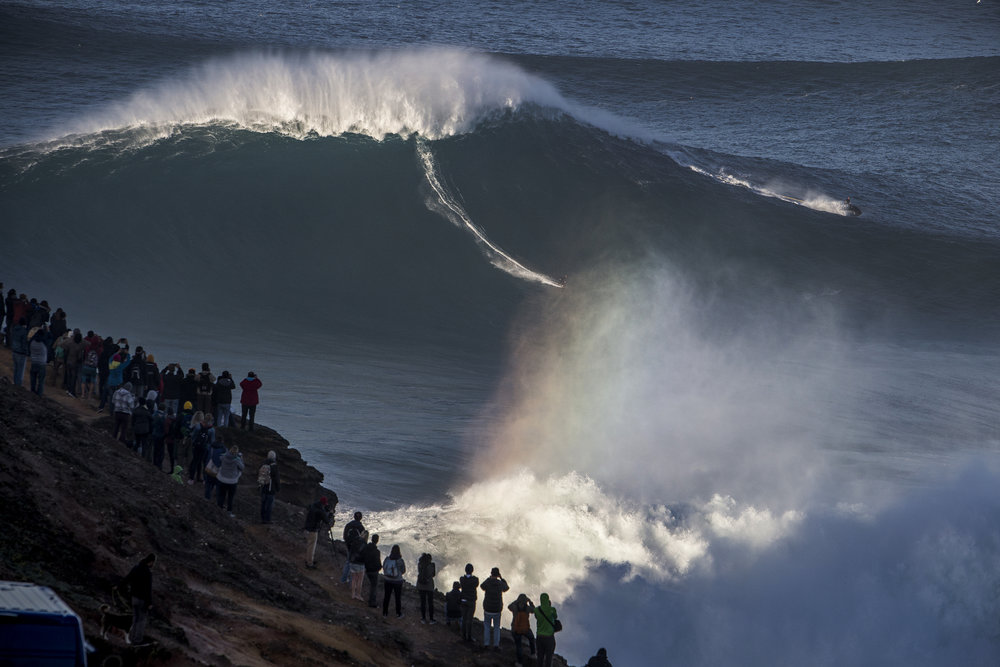 Sebastian Steudtner at Nazaré by Silva
