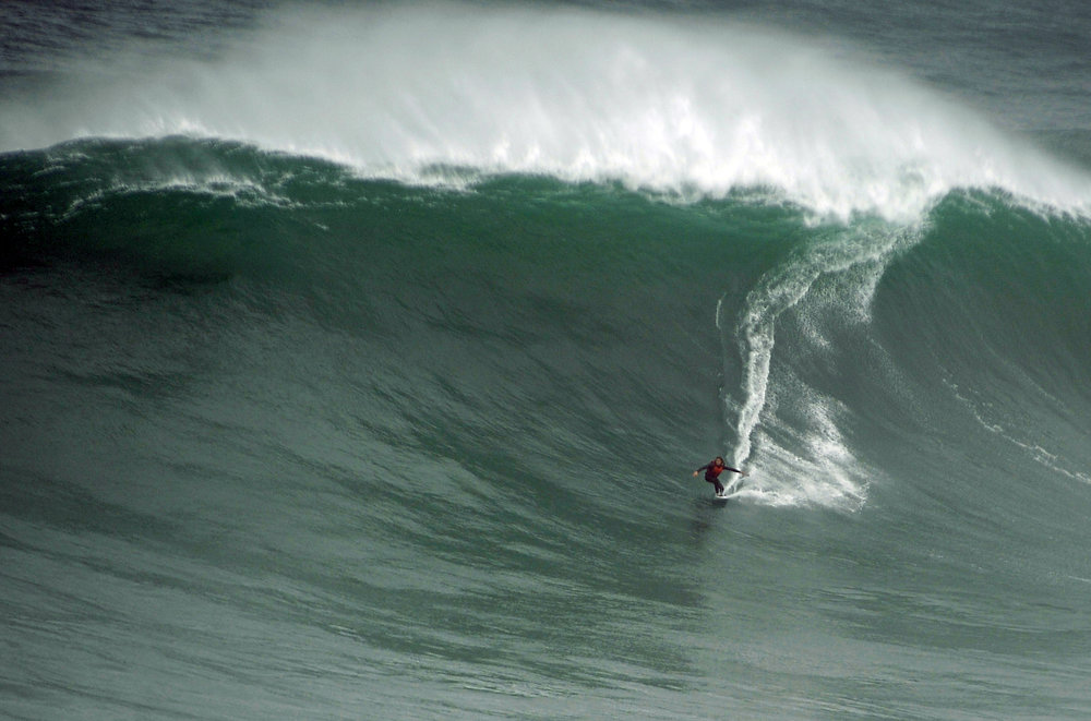 Andrey Karr at Nazaré 1 by Riancho