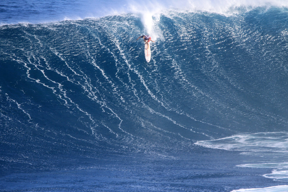 Aaron Gold at Jaws by Lynton