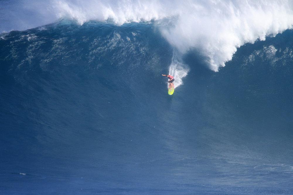 Makua Rothman at Jaws 2 by Lynton