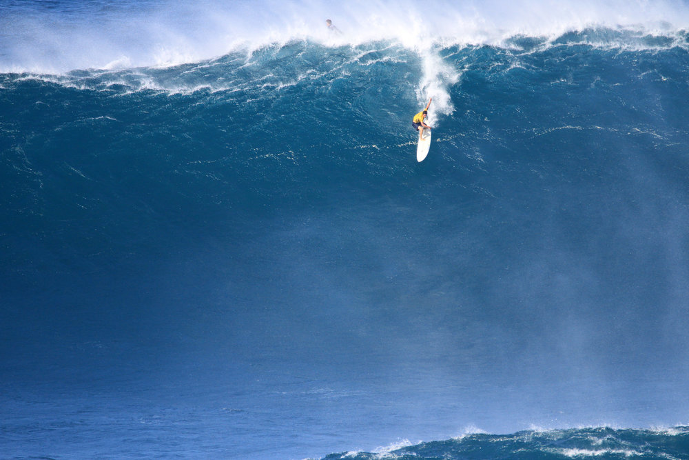 Pedro Calado at Jaws 1 by Lynton