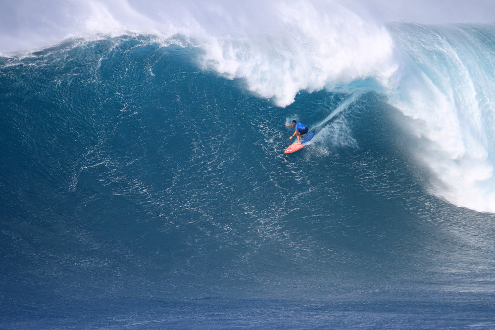 Billy Kemper at Jaws 1 by Lynton