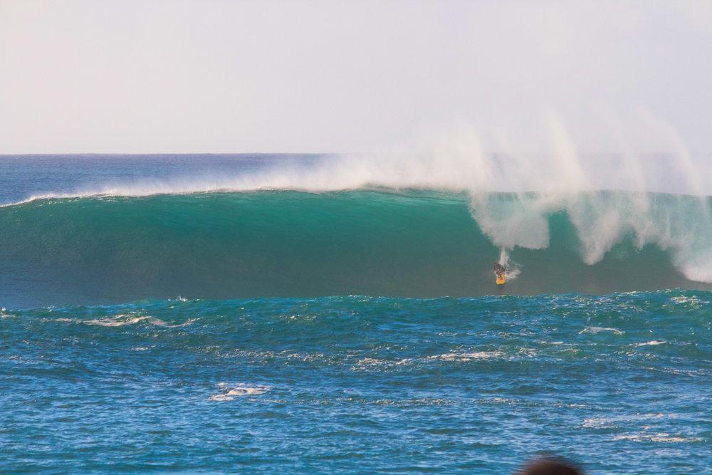 Nicole Pacelli at Waimea Bay 2 by Shigesato