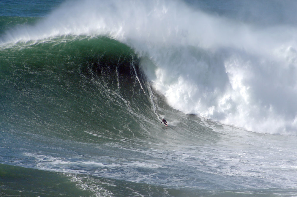 Mick Corbett at Nazaré B by Riancho