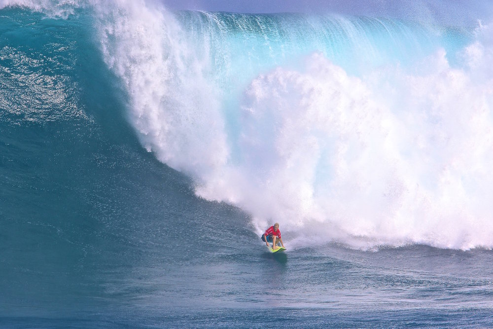 Keala Kennelly at Jaws by Dooma
