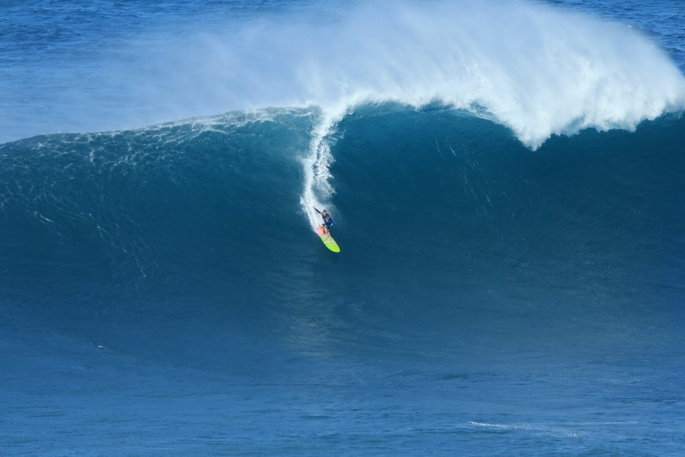 Paige Alms at Jaws by Rodrigues