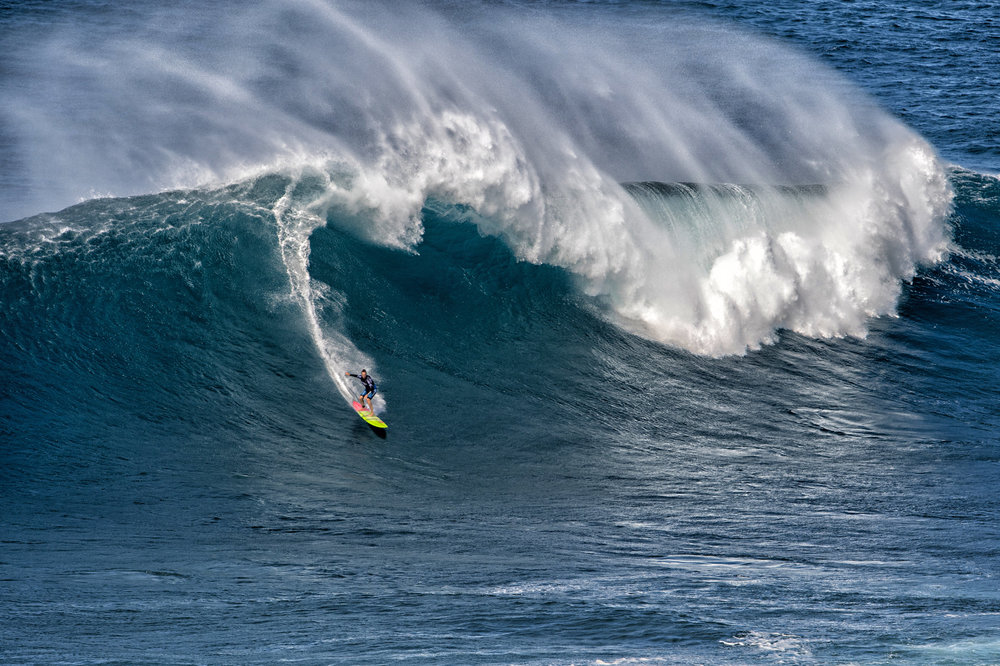 Paige Alms at Jaws by Louca