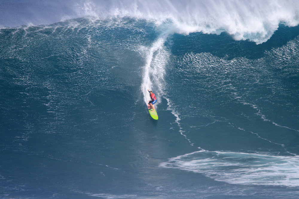Paige Alms at Jaws 1 by Lynton