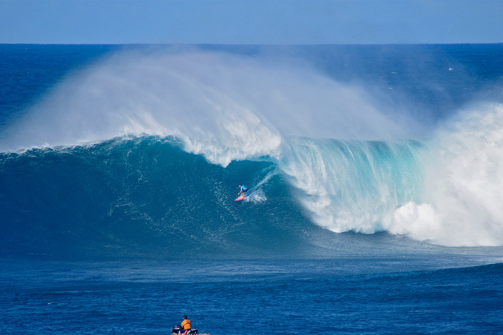 Billy Kemper at Jaws A by Carbajal