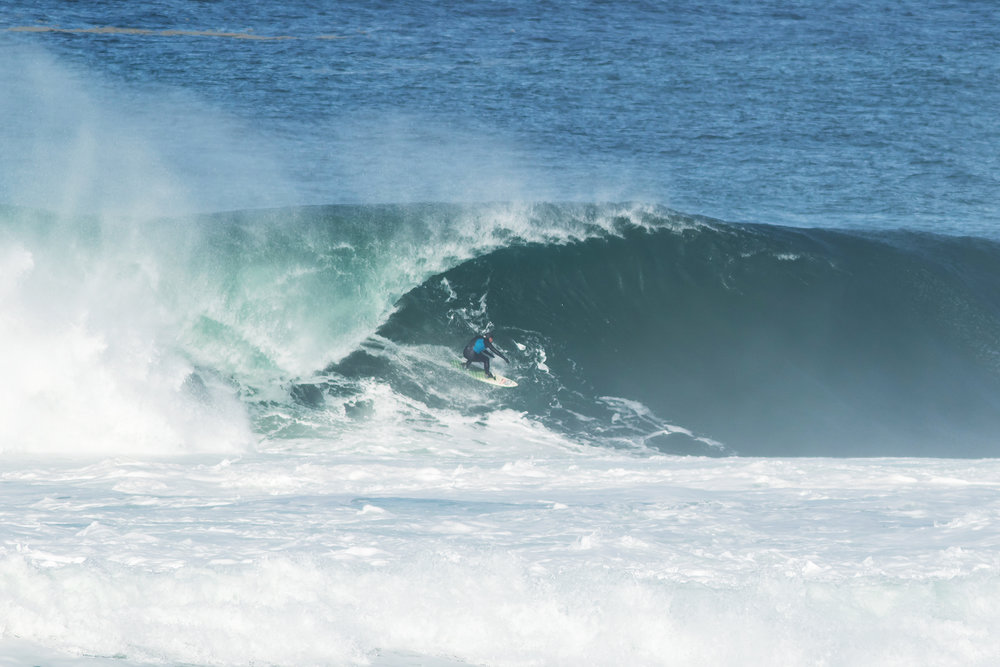 Ollie O'Flaherty at Mullaghmore 1 by Waters