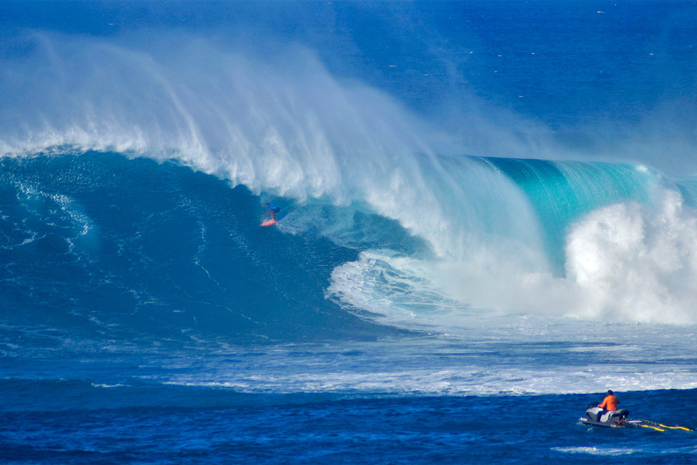 Billy Kemper at Jaws B by Carbajal