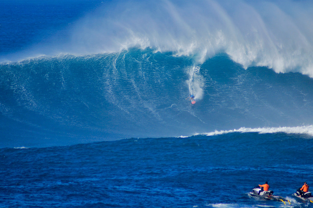 Billy Kemper at Jaws B by Carbajal.