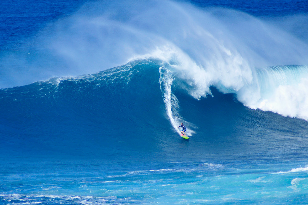 Paige Alms at Jaws by Carbajal