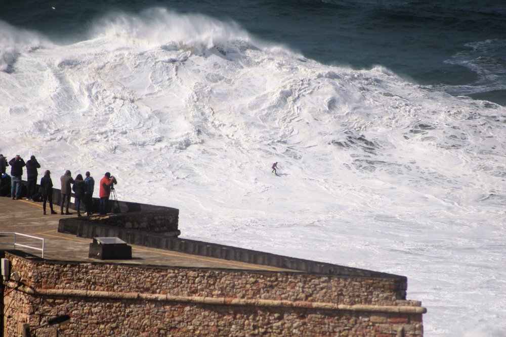 Lucas Chianca at Nazaré by Elias