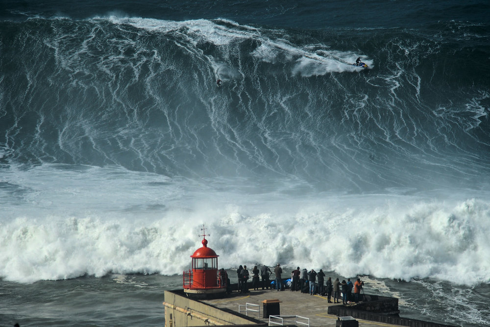 Lucas Chianca at Nazaré 1 by Barroso