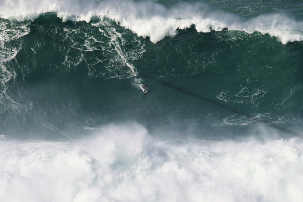 Francisco Porcella at Nazaré 1 by Esperanca