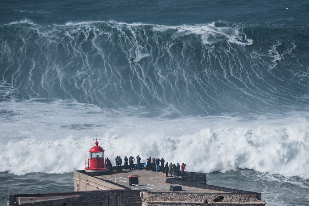 Lucas Chianca at Nazaré 1 by Aleixo