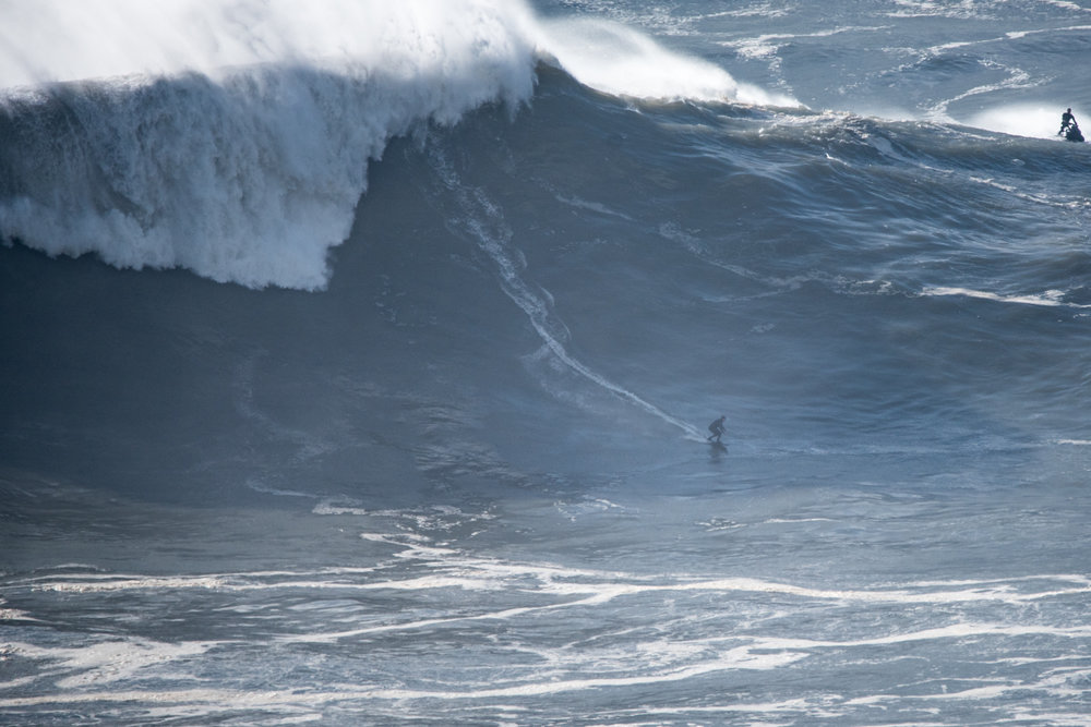 Sebastian Steudtner at Nazaré by Aleixo