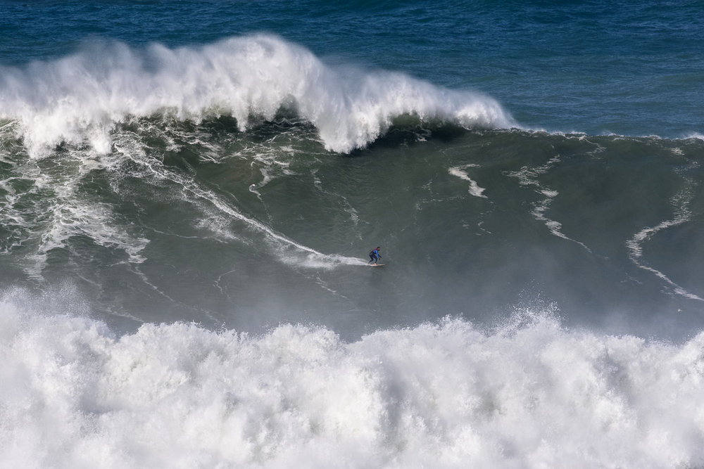 Francisco Porcella at Nazaré B4 by Correia