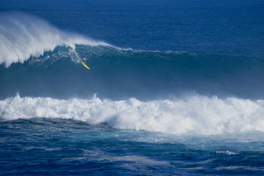 Mark Healey at Jaws by Carbajal