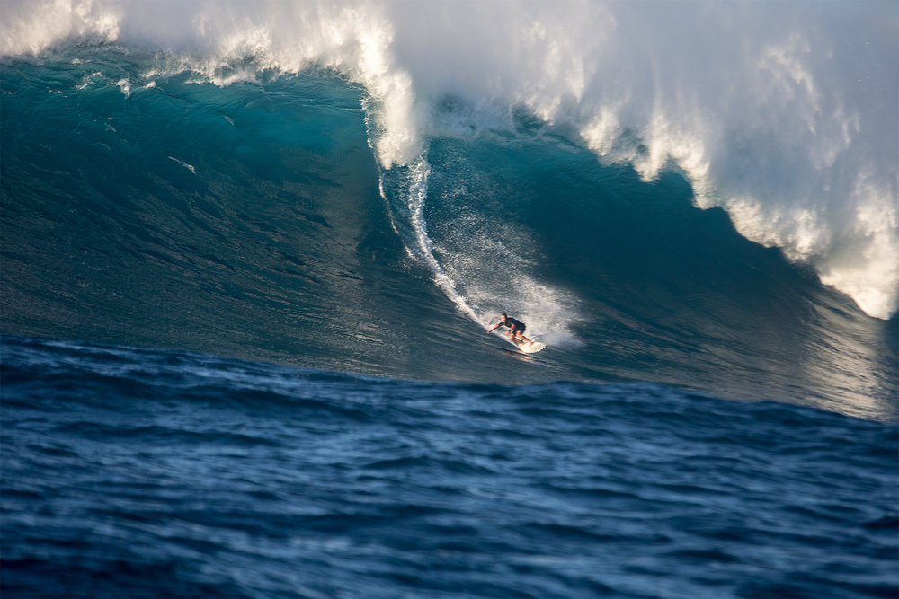 Trevor Carlson at Jaws by Pompermayer