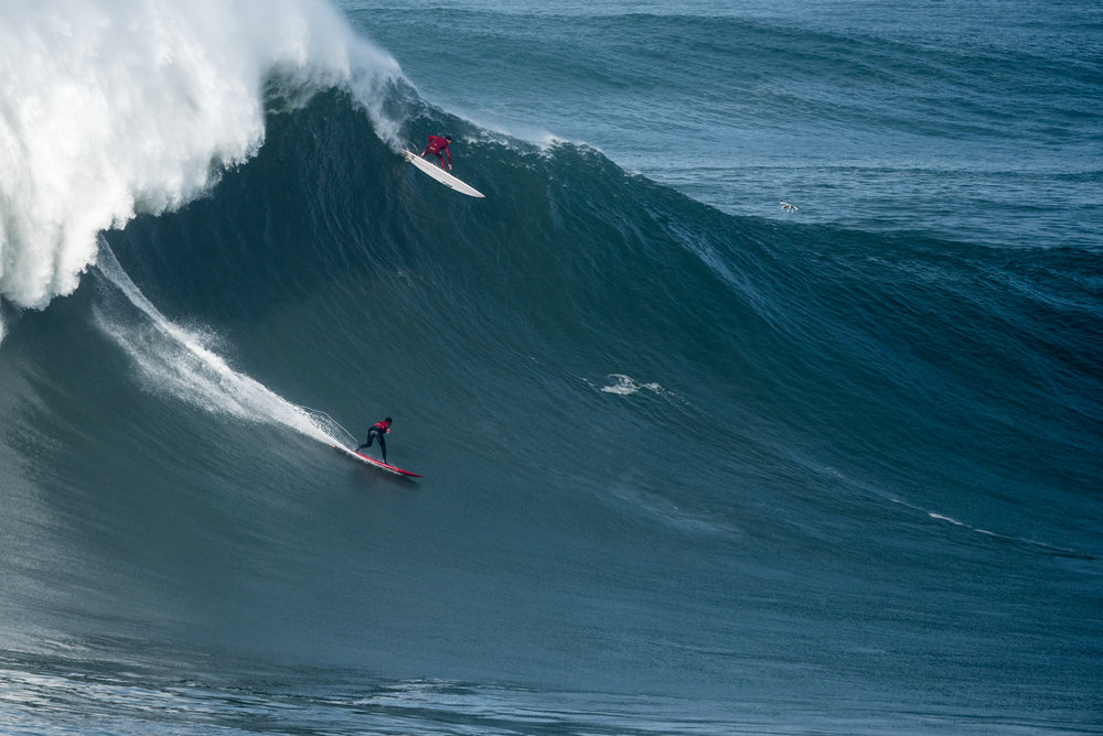 Lucas Chianca at Nazaré by Aleixo