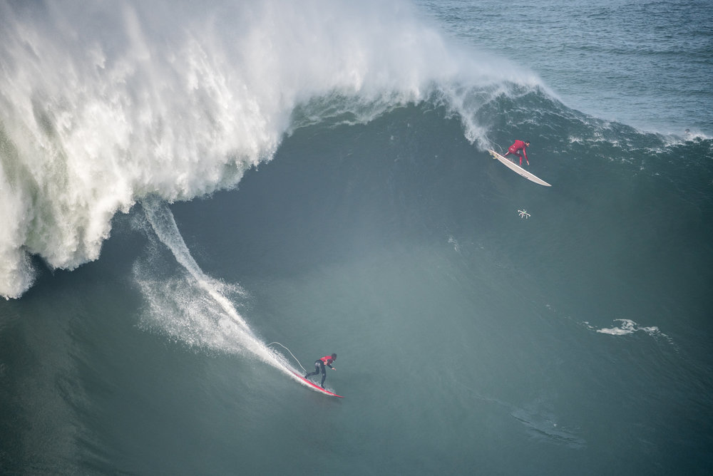 Lucas Chianca at Nazaré by Miranda