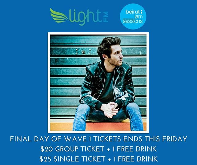 Final day of Wave 1 tickets is this Friday! Link to tickets in bio.