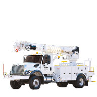 DIGGER DERRICKS Sheave heights range up to 80 ft and winch capacities of up to 23,500 lbs. > Learn More