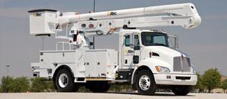 OVERCENTER Altec's Overcenter Aerial Devices are available in a multitude of configurations, with working heights up to 93.3 ft. Whatever your needs, Altec has the equipment you need to get the job done. For more information, select the model that fits your application or specifications.