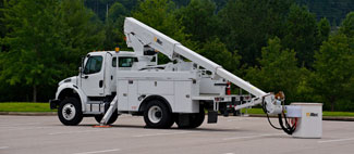 TELESCOPIC Altec offers a wide variety of Telescopic Aerial Devices with working heights up to 63.8 ft. Whether you are hanging traffic lights, working cable or distribution lines, Altec has the equipment you need to get the job done. For more information, select the model that fits your application or specifications.