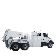 CABLE HANDLERS     Features both chassis mounted and trailer mounted type handlers.      > Learn More