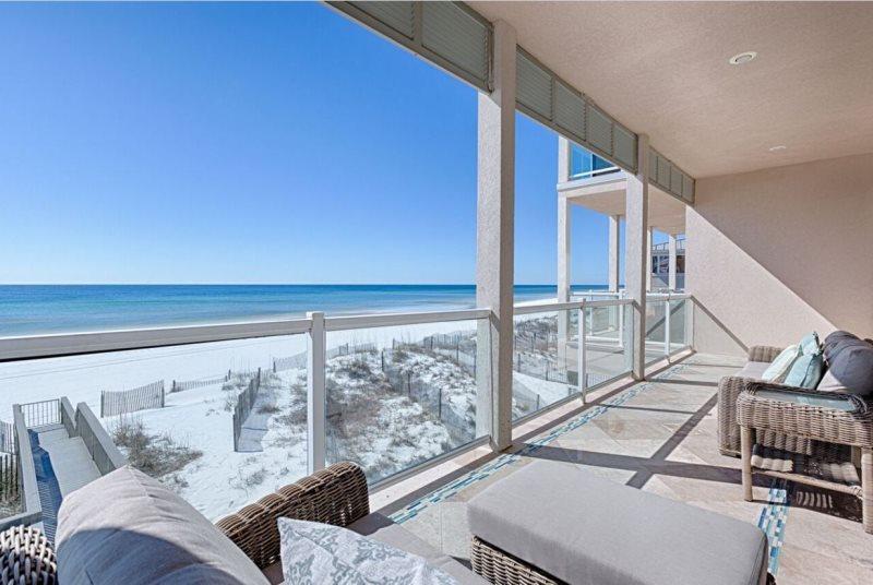 Second Floor Balcony Off Living Space