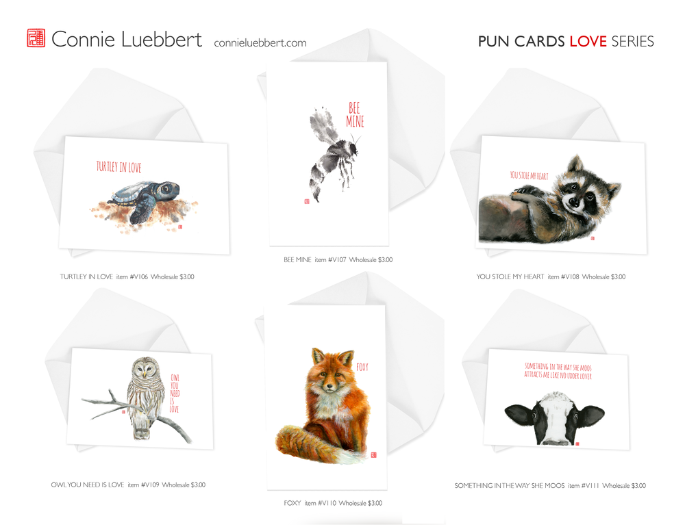 - PUN CARDS: LOVE SERIES
