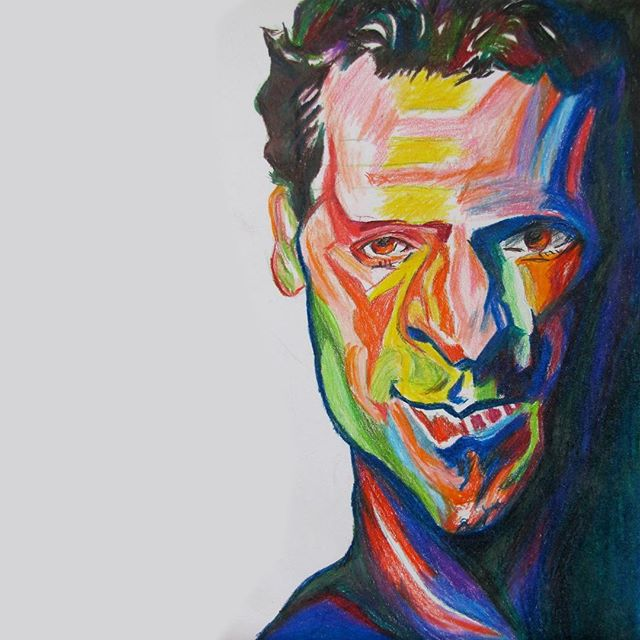 Lindsey Buckingham #fleetwoodmac #color @fleetwoodmacfanclub @mickfleetwoodofficial @lindseybuckingham #coloredpencil #learnfromthemasters #myversion #artistsoninstagram #musiclover #artistsoninstagram