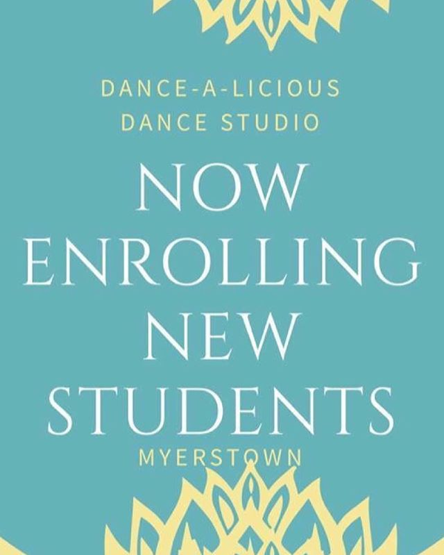 We want you to join the memory making at dance class!  #dancealiciousds #dancestudio #myerstown #myerstownpa #nowenrolling #fall2018  #ballet #tap #hiphopdance