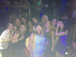 Not the best photo quality but at least all 11 of us are in this one!