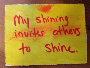 My Shining Invites Others to Shine