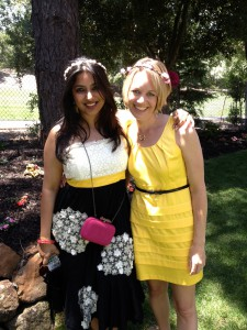 Here I am with Ms. Ayesha in CA where I am so grateful that she still comes back frequently to be with her friends.
