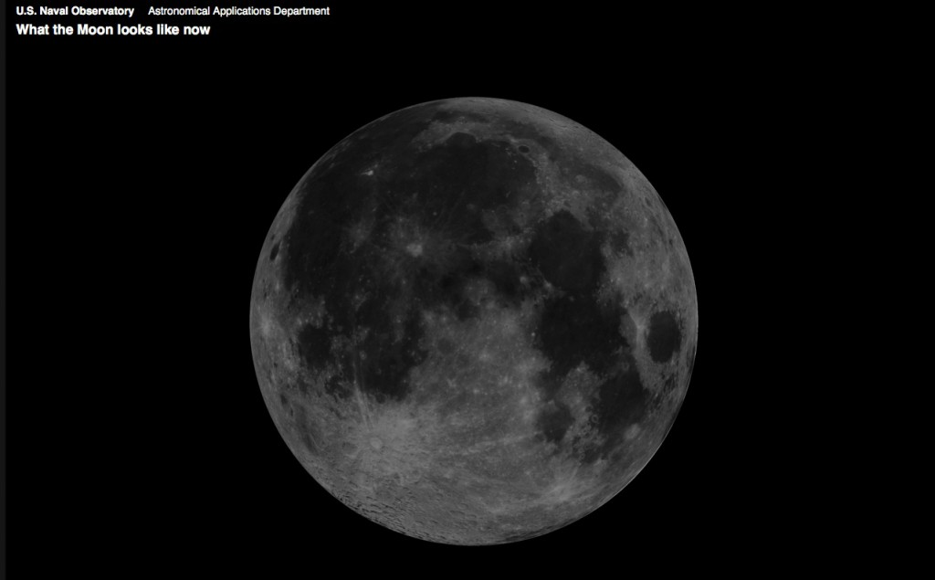 This site shows us what the moon looks like at any time... this is right now.  Isn't she beautiful? So full of hope!  (http://aa.usno.navy.mil/imagery/moon)