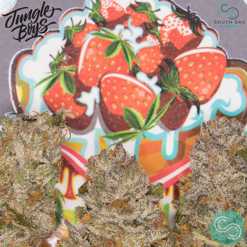 "Strawberry Shortcake anyone? Very tasty light ""fruity-berry & kush"" flavor along with a strong energizing buzzing effect."