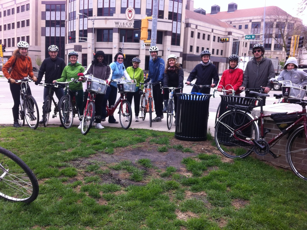 2013 bicycle tour of transportation planning