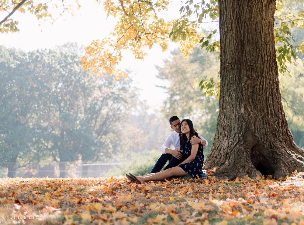 R & C's Autumn Engagement