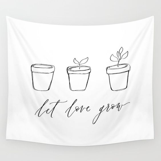 let love grow banner