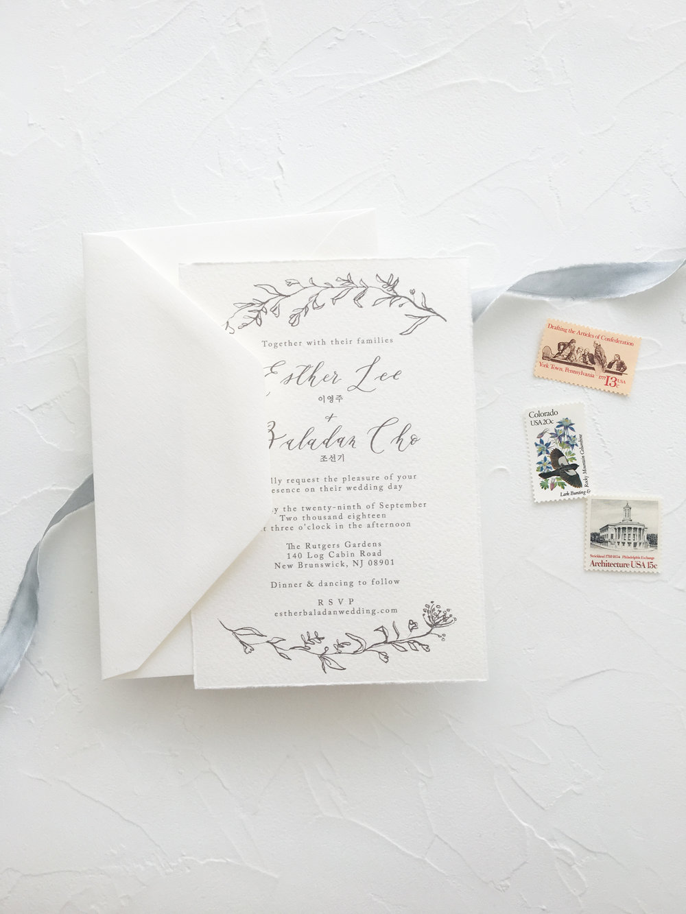 Botanical Calligraphy invitation suite.jpg