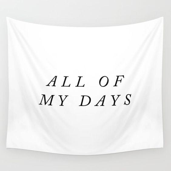 wedding banner all of my days typography modern backdrop.jpg