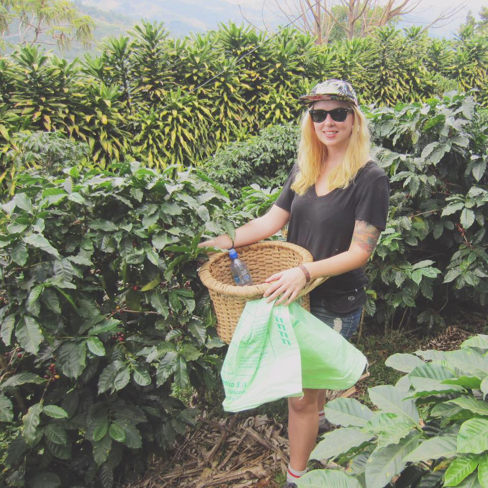 Christine at La Manita Coffee Farm