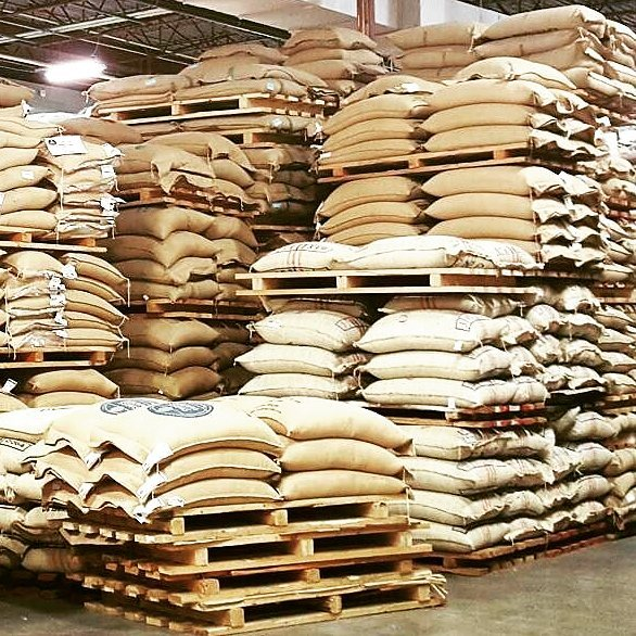 Wow, we have been busy! Actual view of our warehouse... Just kidding. But some of these bags are now in our hot hands! Soon we will have some amazing new coffees to share with you, watch this space!! ☕ #groundswellroasters #specialtycoffee #singleorigin #naturalcoffee #coffeebag #vanfoodie #coffeetime #coffeecupping #coffeeroaster #coffeelover #yvrcoffee #thirdwavecoffee #coffeeroasting
